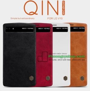 Bao da cao cấp hiệu Nillkin QIN series LG V10